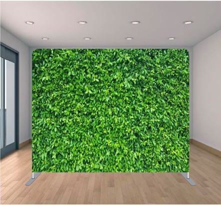 box grass backdrop
